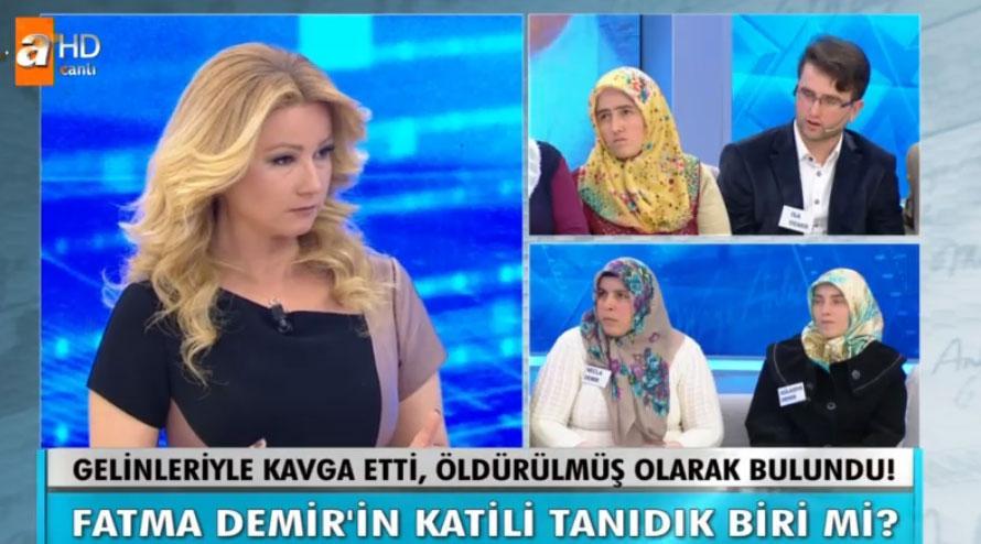 Müge Anlı 27 Nisan yeni bölüm ATV canlı Fatma Demir'in katili kim çıktı?