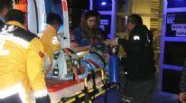 El Bab'da yaralanan 4 Suriyeli çocuk Kilis'e getirildi