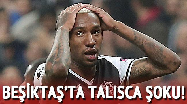 Beşiktaş'ta Anderson Talisca şoku!