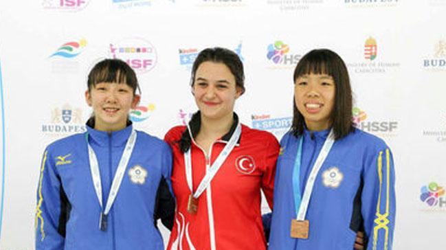 Türk sporcu Beste Samancı dünya şampiyonu oldu