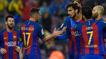 Camp Nou'da çılgın maç! 8 gol...