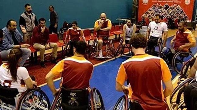 Galatasaray Tekerlekli Sandalye Basketbol Takımı Andre Vergauwen Kupası'nda yarı finale kaldı