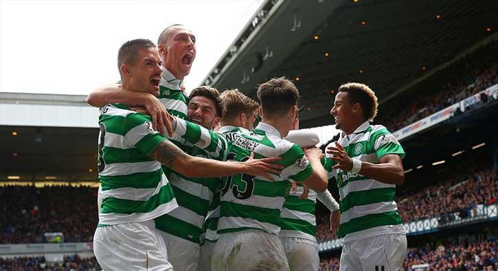 Old Firm derbisinde Celtic, Glasgow Rangers'ı 5-1'le geçti