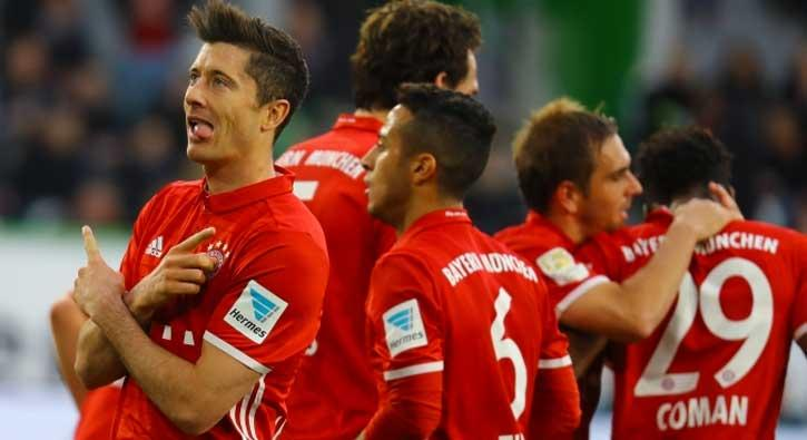 Bayern Münih, Wolfsburg'u 6-0 mağlup ederek şampiyon oldu