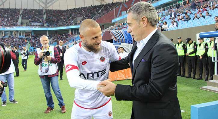 Ersun Yanal: Trabzonspor gelişen bir takım