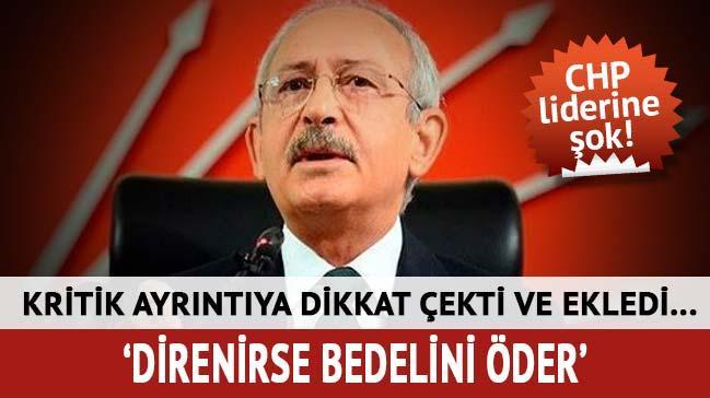 'Uyum'a direnen CHP siyaseten bedelini öder!'