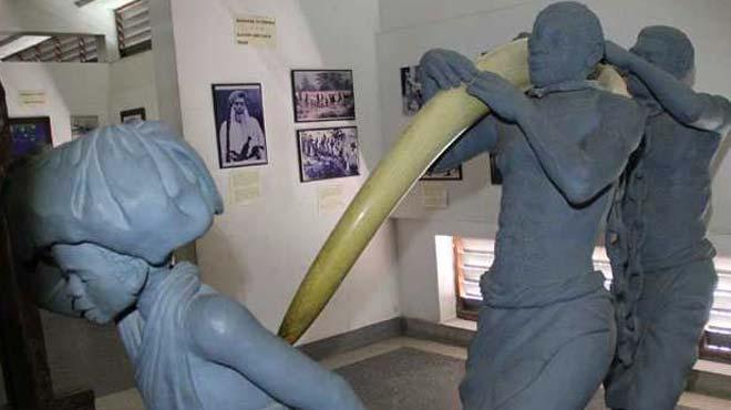 Bu müzede sömürgeciliğin tarihi sergileniyor