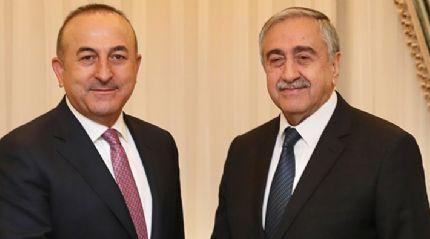 Çavuşoğlu ile Akıncı'dan 'müzakere' telefonu