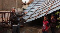 Şanlıurfa'da fırtına çatı uçurdu