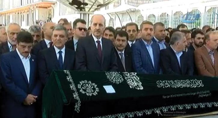 Gazeteci Akif Emre son yolculuğuna uğurlandı