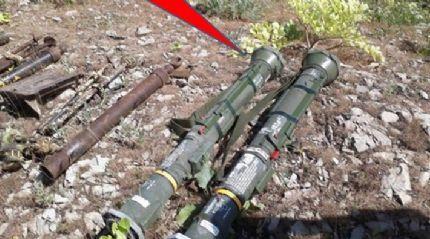 PKK'ya yönelik operasyonda 2 adet ABD tank füzesi ele geçirildi