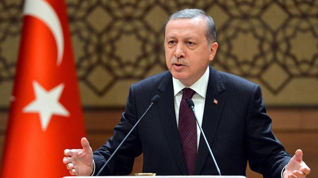 Cumhurbaşkanı Erdoğan İstanbul'da şehit aileleri ve Gazilere hitap etti