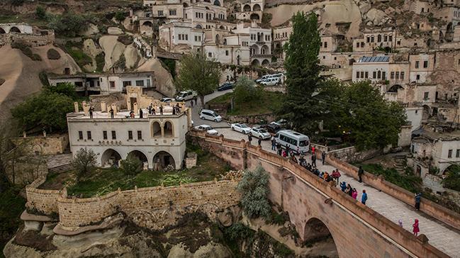 Cappadox'un çağdaş sanat sergisi devam ediyor