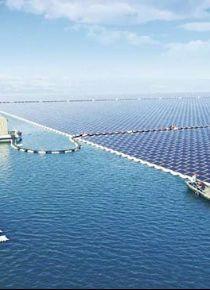 Çin, dünyanın en büyük 'yüzen' güneş santralini tanıttı!