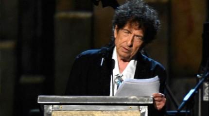 Bob Dylan'ın Nobel konuşması çalıntı çıktı