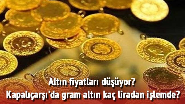 Altının gramı çeyrek yarım altın 22 - 24 ayar altın bilezik gram fiyatı ne kadar