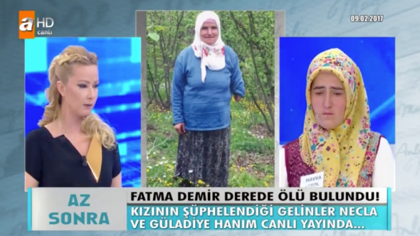 Müge Anlı Tatlı Sert  Fatma Demir cinayeti son dakika kızı Havva Erkol konuştu