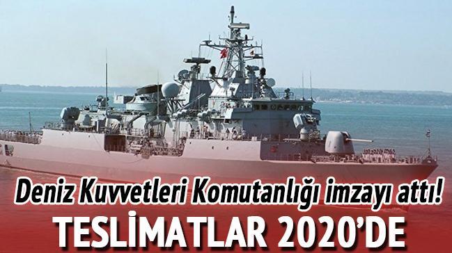 Deniz Kuvvetleri Komutanlığı ile ASELSAN-Havelsan arasında anlaşma!