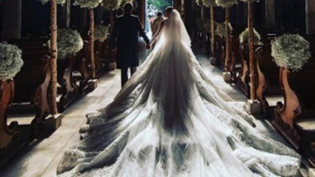 Swarovski markasının varisi Victoria Swarovski evlendi