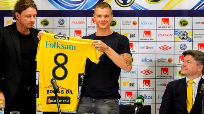 Samuel Holmen resmen Elfsborg'da