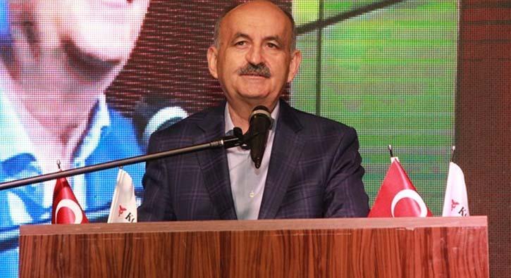Çalışma ve Sosyal Güvenlik Bakanı Müezzinoğlu: Türkiye dünya ile yarışan bir ülke