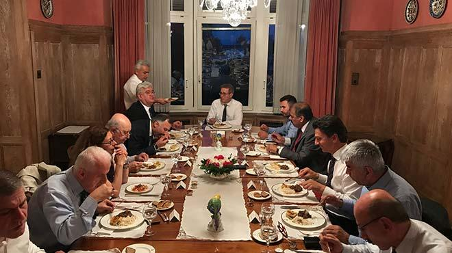 Türkiye'nin Bern Büyükelçiliği iftar verdi