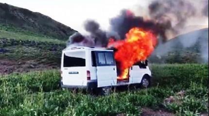 Van'da bombalı eylemde kullanılacağı tespit edilen araç imha edildi