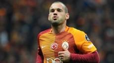 Galatasaray'da flaş ayrılık!  Wesley Sneijder resmen...