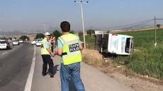 Balıkesir'de yolcu otobüsü devrildi: Ölü ve yaralılar var