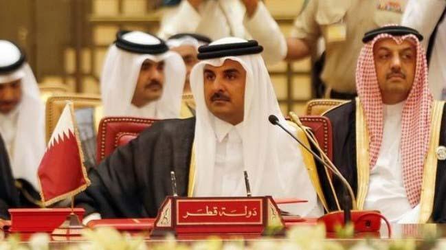 Şammar aşiretinin lideri Şeyh Almaghames Katar a en yakın ülke