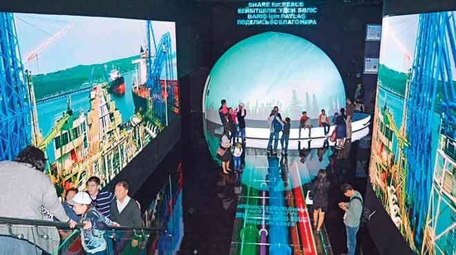 Astana'ya Türkiye'nin enerjisi damga vurdu