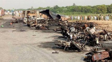 Pakistan'da yaşanan kazada ölü sayısı 157'ye yükseldi