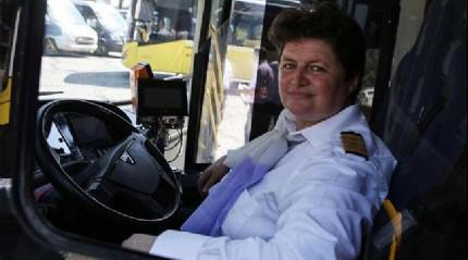 İstanbul yollarında bir 'şoför Nebahat'