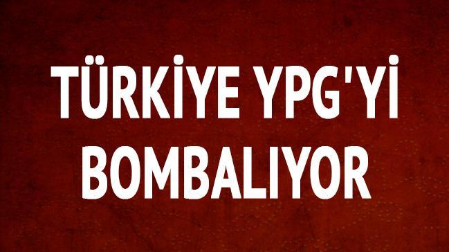 Türkiye YPG'yi bombalıyor