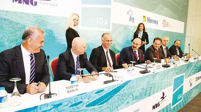 3. Havalimanı'nda 6 şirketle250 milyon euroluk imza