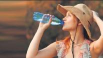 Sıcak havalarda su kaybına dikkat