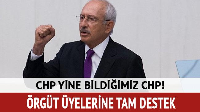 CHP'li Sezgin Tanrıkulu'dan örgüt üyelerine destek