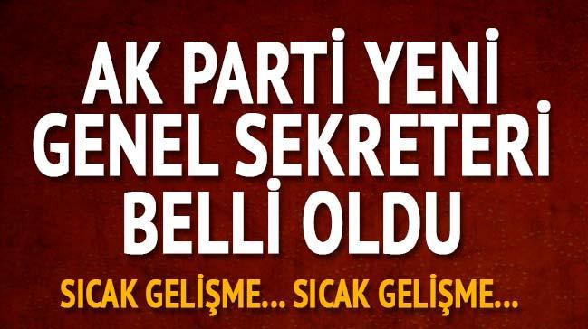 Adalet Bakanı Abdulhamit Gül'ün yerine AK Parti Genel Sekreteri Fatih Şahin oldu