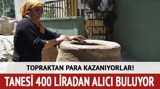 Topraktan para kazanıyorlar! Tanesi 400 liradan alıcı buluyor
