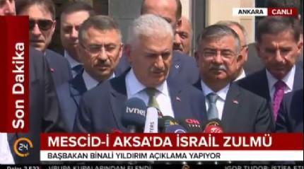 Başbakan Yıldırım'dan gündeme ilişkin açıklama