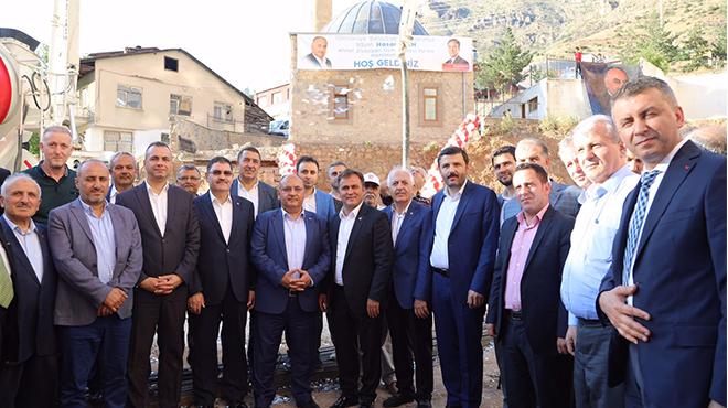 Ümraniye Belediyesi kardeş şehri Gümüşhane'ye kalıcı bir eser kazandırıyor