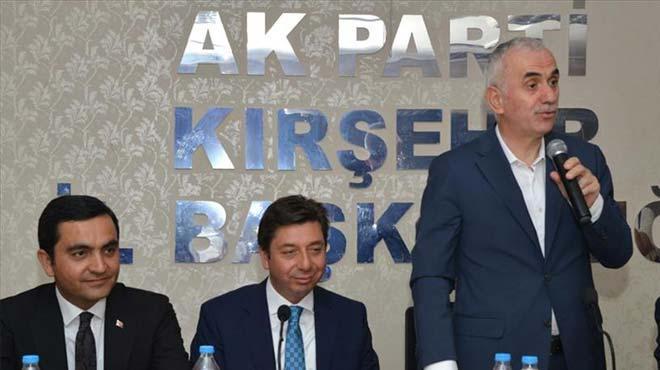 AK Partili Kaya'dan yerel seçim açıklaması