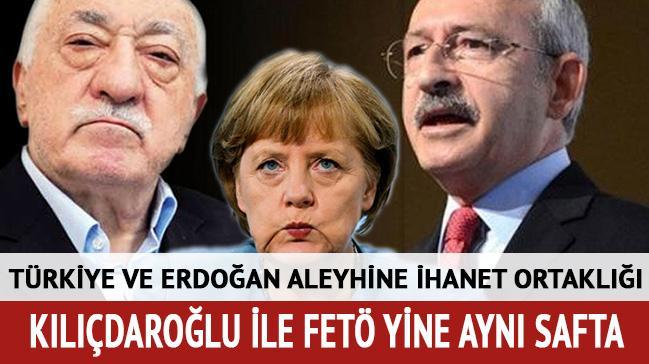 Türkiye ve Erdoğan aleyhinde ihanet ortaklığı