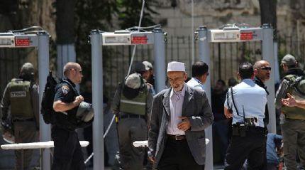 İsrail basını: Mescid-i Aksa'daki metal dedektörler kaldırılacak