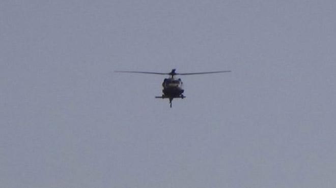 Kilis semalarında iki gündür helikopter hareketliliği yaşanıyor
