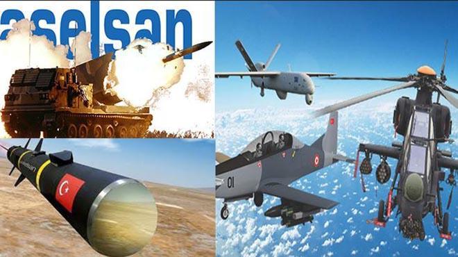 Dünyanın en büyük savunma sanayi kuruluşları listesinde 3 Türk şirket