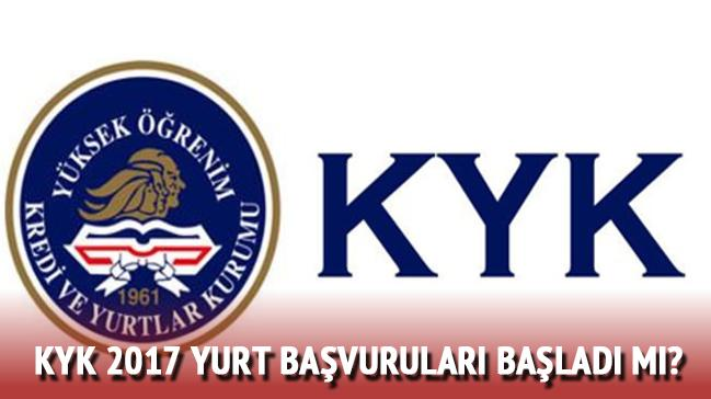 KYK+2017+yurt+ba%C5%9Fvuru+tarihleri+a%C3%A7%C4%B1kland%C4%B1+m%C4%B1?