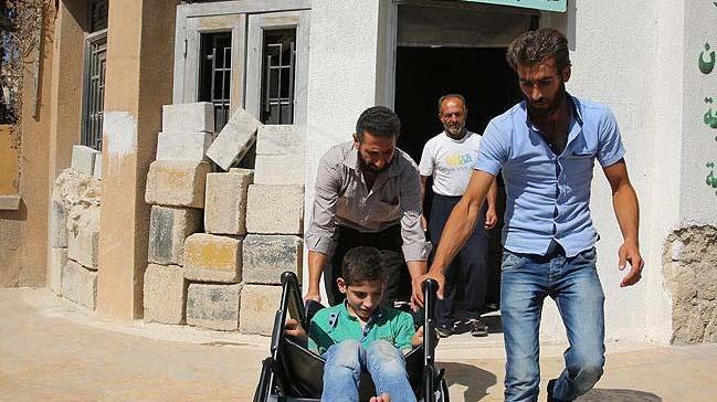 İHH'dan Suriye'deki engellilere destek