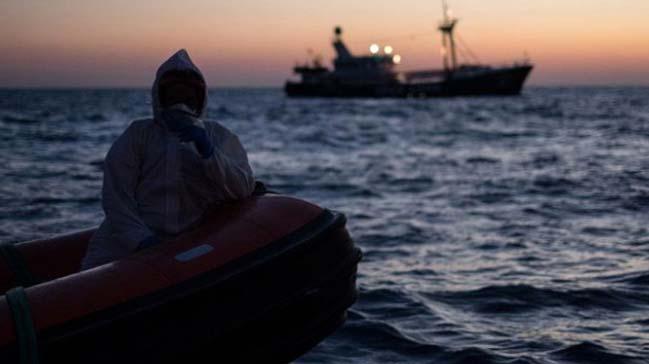 Yunanistan'a geçen 46 göçmen yakalandı