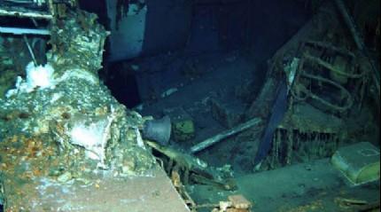 Kayıp gemi 72 yıl sonra bulundu